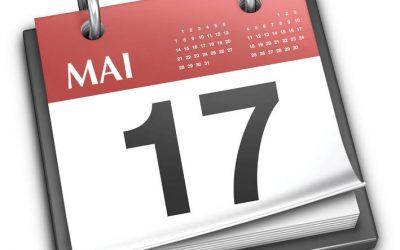 Vacación Semana Santa: Abrimos o sábado 15