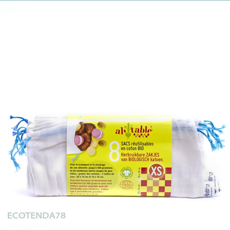 Ah Table - Bolsas Reutilizables XS - Cesquis Vegan Shop