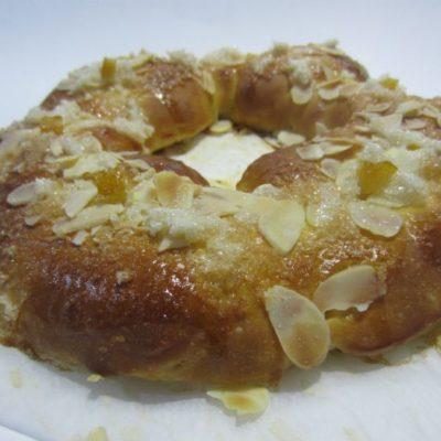 Roscón de Reyes sin gluten sin lactosa Biogredos
