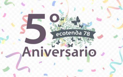 5 anos de Ecotenda78!!