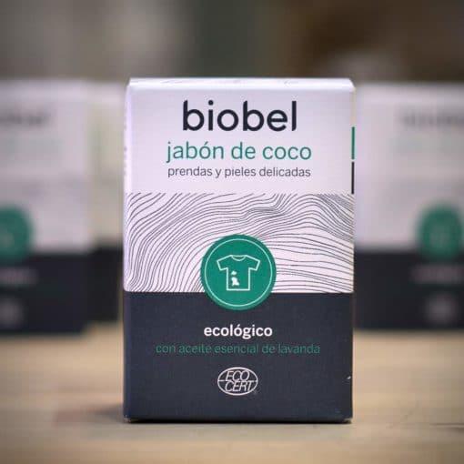 Pastilla de Jabón de Coco Biobel